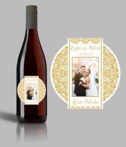 L'amour esküvői címke